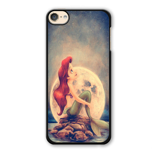 Ariel Under The Night Sky Phonecase Cover Case For Apple Ipod 4 Ipod 5 Ipod 6