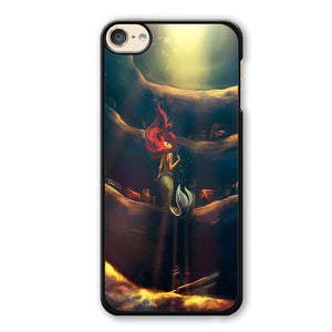 Ariel Wanna See The World Phonecase Cover Case For Apple Ipod 4 Ipod 5 Ipod 6