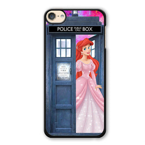 Ariel Who Tardis Phonecase Cover Case For Apple Ipod 4 Ipod 5 Ipod 6