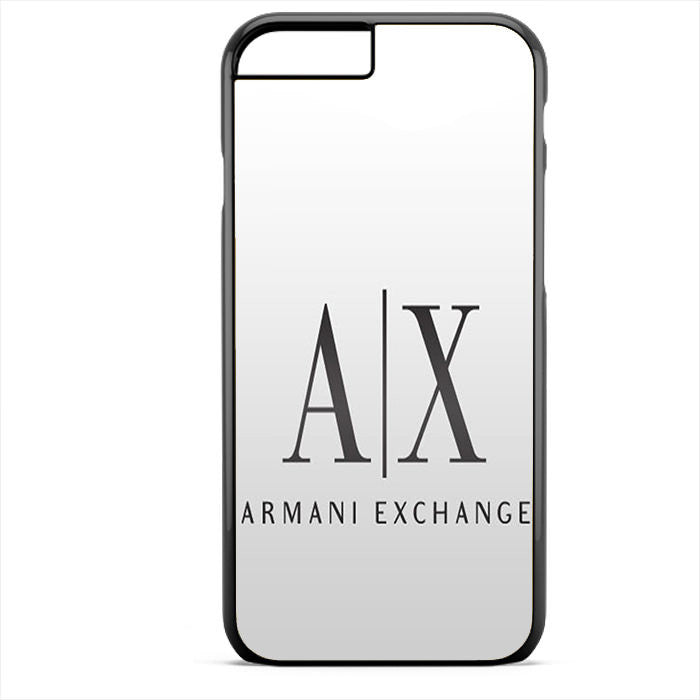 Armani Exchange White Phonecase For Iphone 4/4S Iphone 5/5S Iphone 5C Iphone 6 Iphone 6S Iphone 6 Plus Iphone 6S Plus