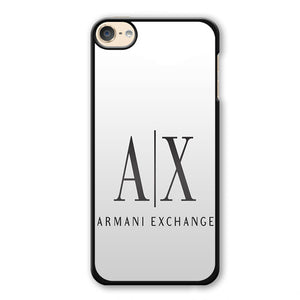 Armani Exchange White Phonecase Cover Case For Apple Ipod 4 Ipod 5 Ipod 6