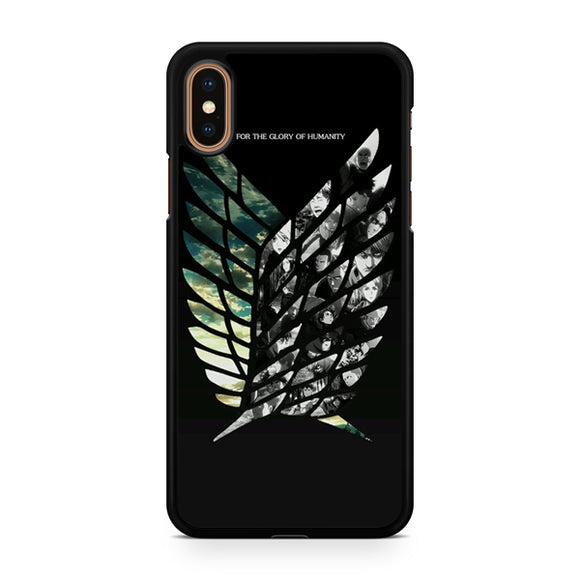 attack on the titan, Custom Phone Case, iPhone Case, iPhone XS Case