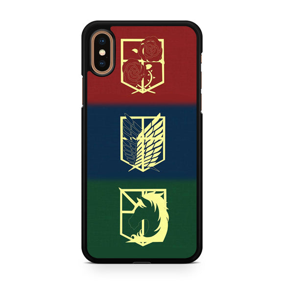 attack on titan logo, Custom Phone Case, iPhone Case, iPhone XS Case
