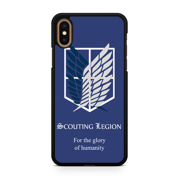 attack on titan scouting legion, Custom Phone Case, iPhone Case, iPhone XS Case
