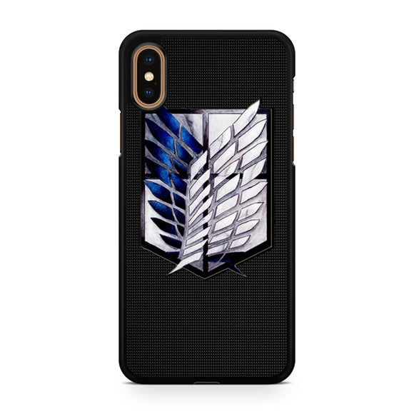 attack on titans, Custom Phone Case, iPhone Case, iPhone XS Case
