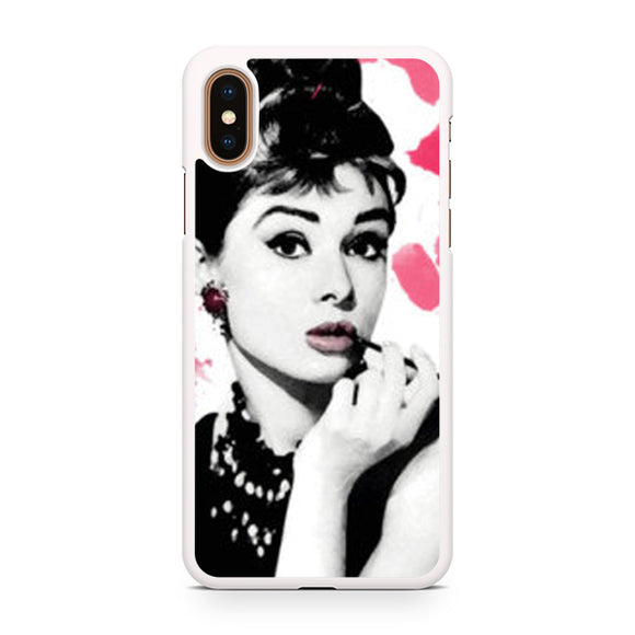 audrey herpburn, Custom Phone Case, iPhone Case, iPhone XS Case