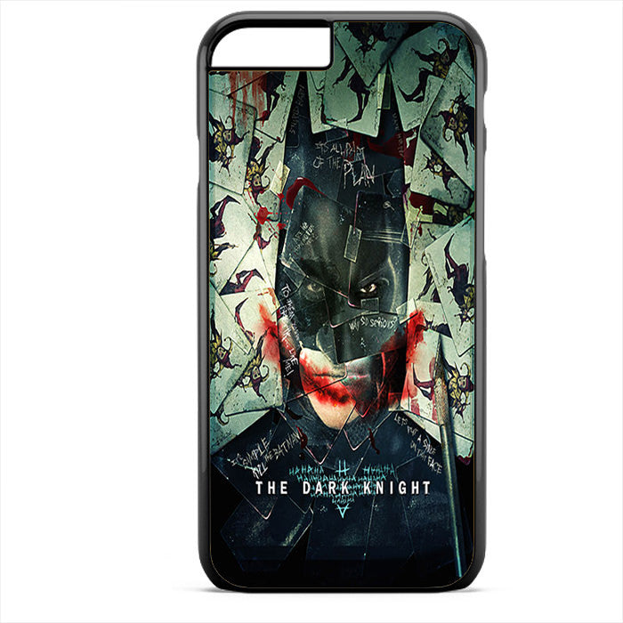 Batman The Dark Knight Joker Montage Phonecase For Iphone 4/4S Iphone 5/5S Iphone 5C Iphone 6 Iphone 6S Iphone 6 Plus Iphone 6S Plus