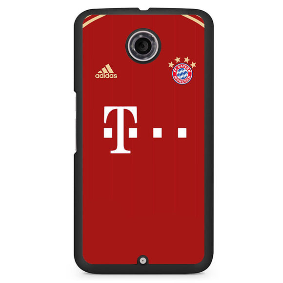 Bayern Munchen Jersey 1 Phonecase Cover Case For Google Nexus 4 Nexus 5 Nexus 6