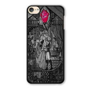 Beauty And The Beast Stained Glass Phonecase Cover Case For Apple Ipod 4 Ipod 5 Ipod 6