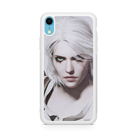 ciri the witcher,Custom Phone Case, iPhone XR Case, Tatumcase