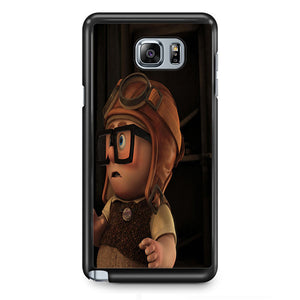 Disney Up Movie Carl And Ellie Young TATUM-3446 Samsung Phonecase Cover  Samsung Galaxy Note 2 Note 3 Note 4 Note 5 Note Edge
