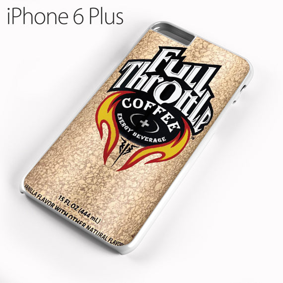 full throttle vanilla - iPhone 6 Plus Case - Tatumcase