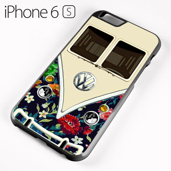 old floral vw retro bus - iPhone 6 Case - Tatumcase