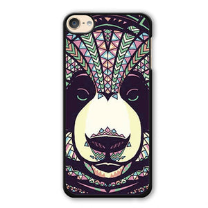 Panda Aztec Phonecase Cover Case For Apple Ipod 4 Ipod 5 Ipod 6