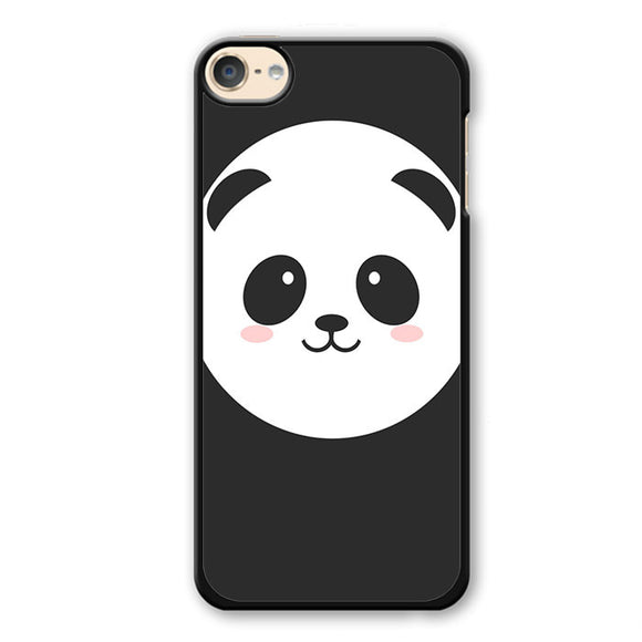 Panda Face Phonecase Cover Case For Apple Ipod 4 Ipod 5 Ipod 6