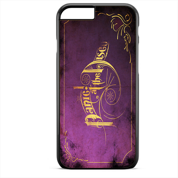 Panic At The Disco Purple Art Phonecase For Iphone 4/4S Iphone 5/5S Iphone 5C Iphone 6 Iphone 6S Iphone 6 Plus Iphone 6S Plus