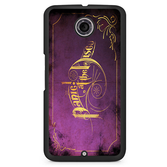 Panic At The Disco Purple Art Phonecase Cover Case For Google Nexus 4 Nexus 5 Nexus 6