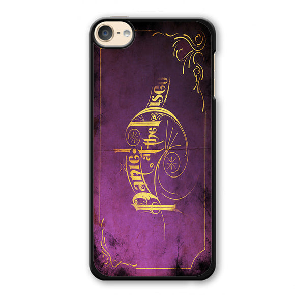 Panic At The Disco Purple Art Phonecase Cover Case For Apple Ipod 4 Ipod 5 Ipod 6