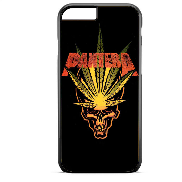 Pantera Leaf Skull Phonecase For Iphone 4/4S Iphone 5/5S Iphone 5C Iphone 6 Iphone 6S Iphone 6 Plus Iphone 6S Plus