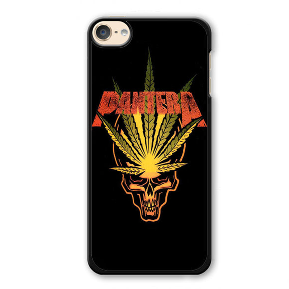 Pantera Leaf Skull Phonecase Cover Case For Apple Ipod 4 Ipod 5 Ipod 6
