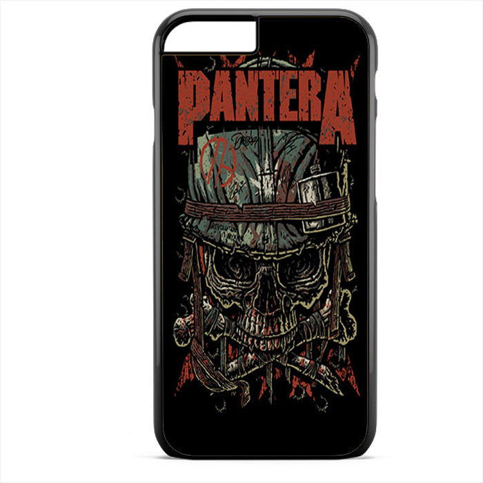 Pantera Skull Phonecase For Iphone 4/4S Iphone 5/5S Iphone 5C Iphone 6 Iphone 6S Iphone 6 Plus Iphone 6S Plus