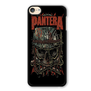 Pantera Skull Phonecase Cover Case For Apple Ipod 4 Ipod 5 Ipod 6