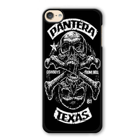 Pantera Texas Phonecase Cover Case For Apple Ipod 4 Ipod 5 Ipod 6