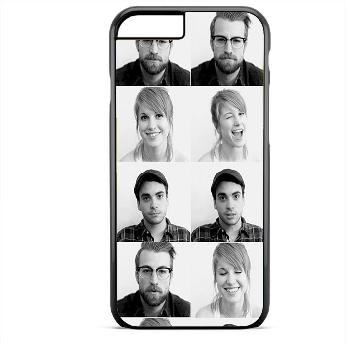 Paramore Members Phonecase For Iphone 4/4S Iphone 5/5S Iphone 5C Iphone 6 Iphone 6S Iphone 6 Plus Iphone 6S Plus