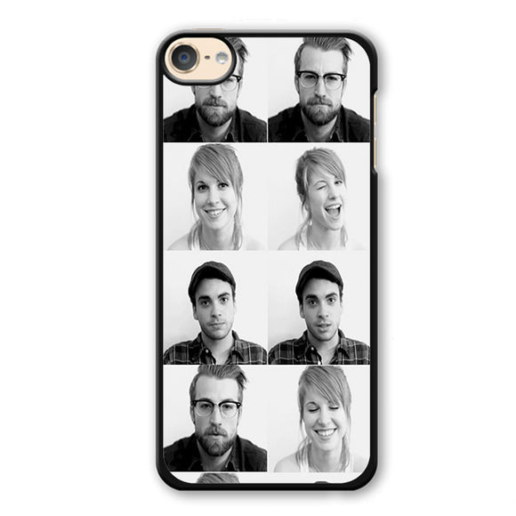 Paramore Members Phonecase Cover Case For Apple Ipod 4 Ipod 5 Ipod 6