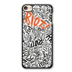Paramore Riot Phonecase Cover Case For Apple Ipod 4 Ipod 5 Ipod 6
