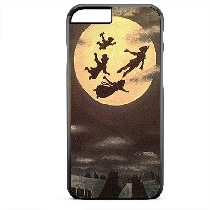 Peterpan Vintage Moon 3 Phonecase For Iphone 4/4S Iphone 5/5S Iphone 5C Iphone 6 Iphone 6S Iphone 6 Plus Iphone 6S Plus