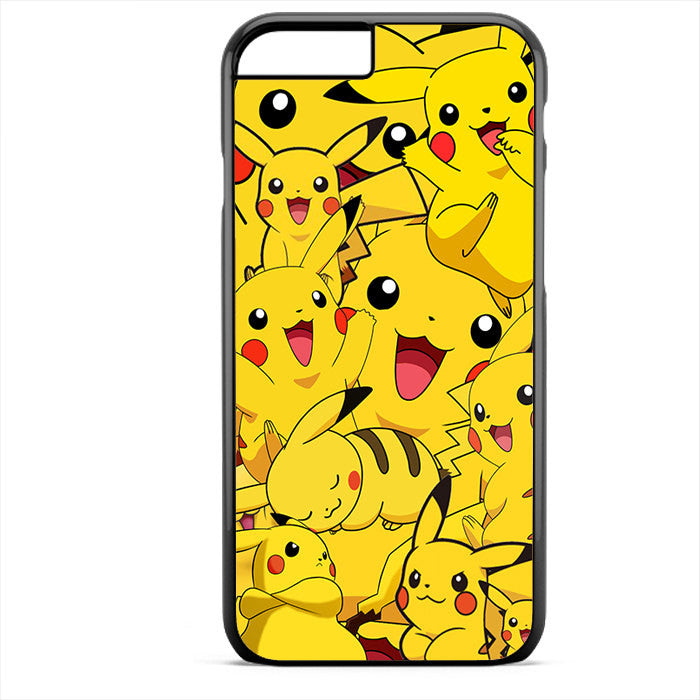 Pikachu Collage Phonecase For Iphone 4/4S Iphone 5/5S Iphone 5C Iphone 6 Iphone 6S Iphone 6 Plus Iphone 6S Plus