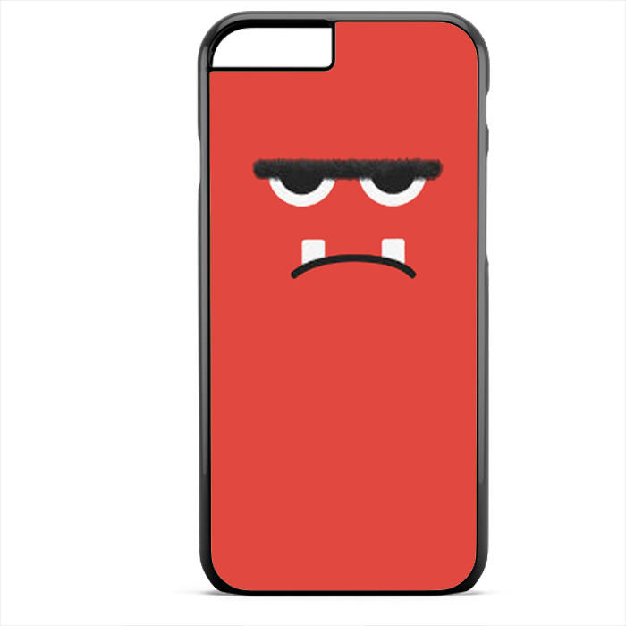 Pink Angry Monster Face Phonecase For Iphone 4/4S Iphone 5/5S Iphone 5C Iphone 6 Iphone 6S Iphone 6 Plus Iphone 6S Plus