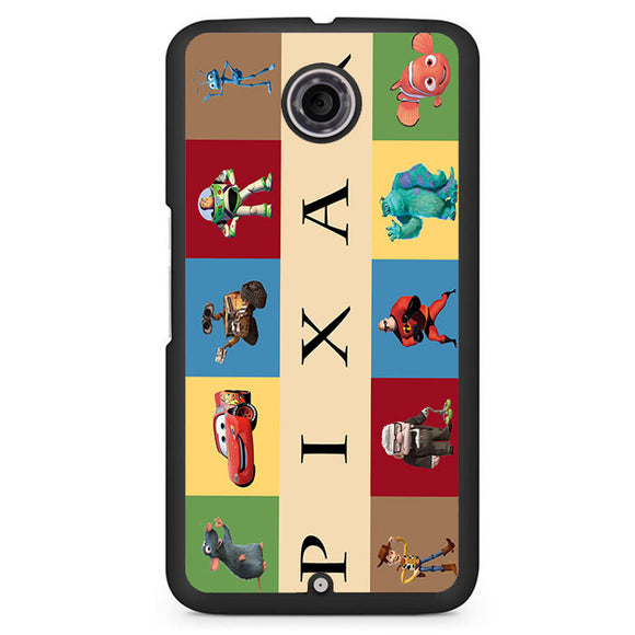 Pixar Movies Phonecase Cover Case For Google Nexus 4 Nexus 5 Nexus 6