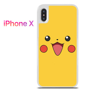 best sneakers 87091 b9a53 pokemon pikachu face for iPhone X