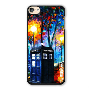 Police Public Box Doctor Who Painting 3 Phonecase Cover Case For Apple Ipod 4 Ipod 5 Ipod 6