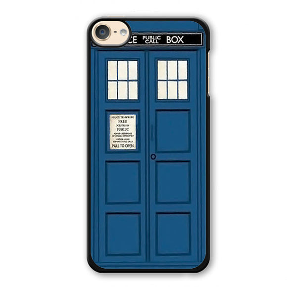 Police Public Box Doctor Who Tardis Phonecase Cover Case For Apple Ipod 4 Ipod 5 Ipod 6