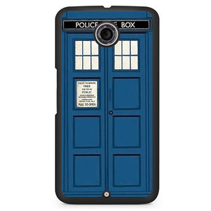 Police Public Box Doctor Who Tardis Phonecase Cover Case For Google Nexus 4 Nexus 5 Nexus 6