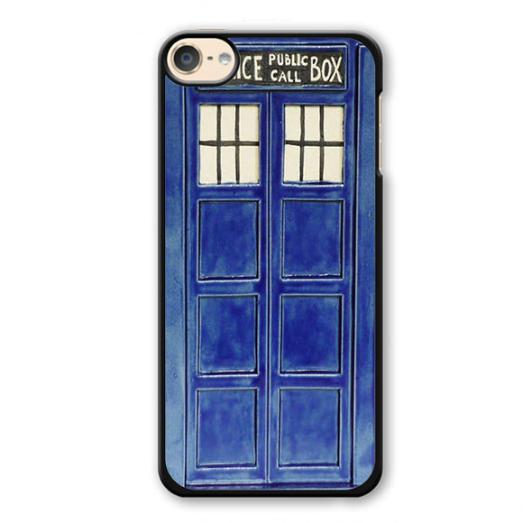 Police Public Box Doctor Who Phonecase Cover Case For Apple Ipod 4 Ipod 5 Ipod 6