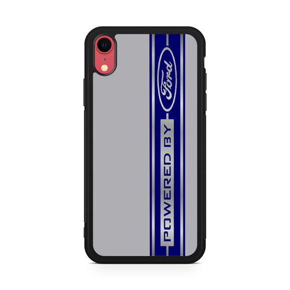 powered by ford,Custom Phone Case, iPhone XR Case, Tatumcase