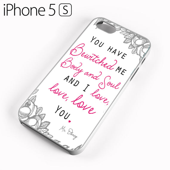pride and prejudice Mr Darcy - iPhone 5 Case - Tatumcase
