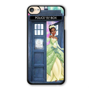 Princess Frog Tardis Phonecase Cover Case For Apple Ipod 4 Ipod 5 Ipod 6