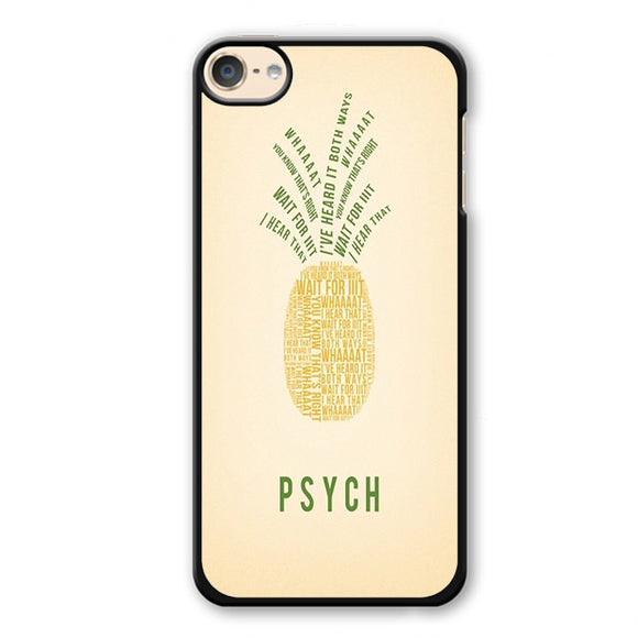 Psych Pineapple Phonecase Cover Case For Apple Ipod 4 Ipod 5 Ipod 6