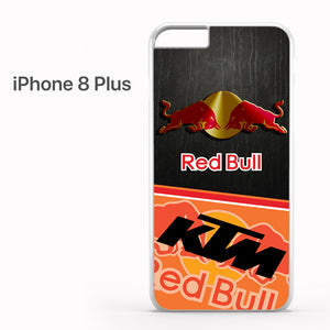 red bull ktm logo mix - iPhone 8 Plus Case - Tatumcase