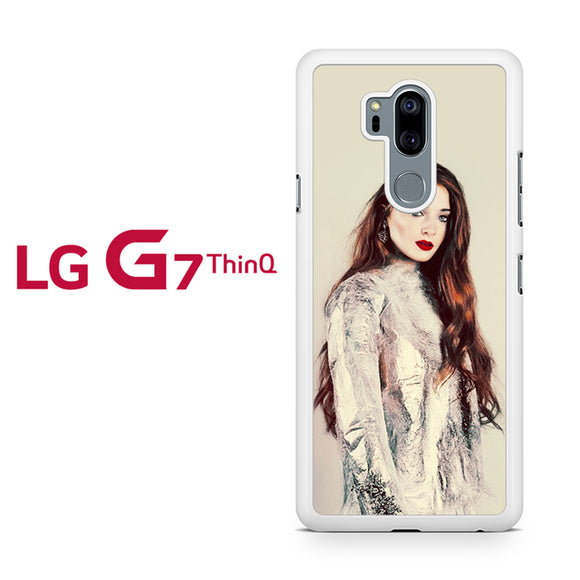 sophie turner 2, LG G7 ThinQ Case, Tatumcase
