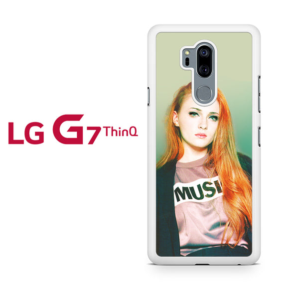 sophie turner 3, LG G7 ThinQ Case, Tatumcase