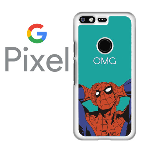 spiderman omg  - Google Pixel Case Tatumcase