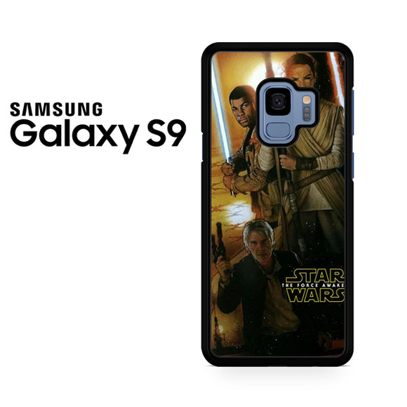 star wars force Awakens Poster - Samsung Galaxy S9 Case - Tatumcase