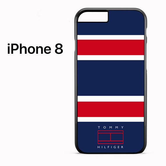 tommy hilfiger pattern - iPhone 8 Case - Tatumcase