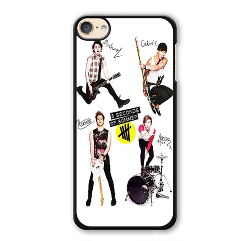 5 Seconds Of Summer And Tools TATUM-75 Apple Phonecase Cover For Ipod Touch 4, Ipod Touch 5, Ipod Touch 6